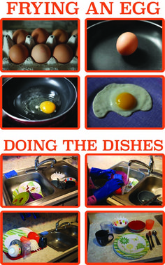 These Home Economics Sequencing cards can be used in fun game to help kids understand the order of some of life's most basic tasks like frying an egg, doing the dishes, doing the laundry.