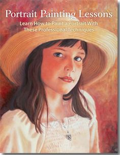 Learn portrait painting techniques in this free guide. ^ch #art #howtopaint