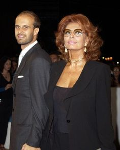 Sophia Loren and Edoardo Ponti (her son) at event of Between Strangers