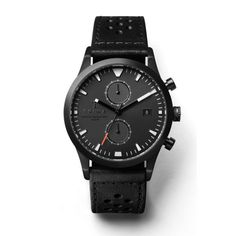 TRIWA LCST112 Mens Watch with a leather sports strap and a metal bracelet for two different styles.