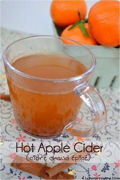 cidre (jus de pomme) chaud épicé