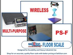 Different SelLEton #FloorScale products • Shop at SelLEton.com for quality, accurate floor scale products with better pricing • #industrialscale #platformscales #digitalscale