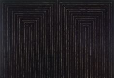 Frank Stella - The Marriage of Reason and Squalor, II (1959) | MoMa (New York) | Minimalisme