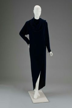 Dress: American, 1980s. Designed by Roy Halston Frowick, known as Halston.