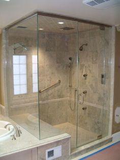 corner showers frameless glass shower specialists