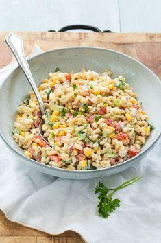 Vegetarian Recipes, Cooking Recipes, Healthy Recipes, Salade Healthy, Easy Smoothie Recipes, Happy Foods, Pasta Salad Recipes, Food Inspiration, Healthy Snacks