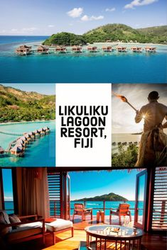 Take a romantic Fiji honeymoon in an overwater bungalow at Likuliku Lagoon Resort Fiji Honeymoon, Honeymoon Spots, Hotels And Resorts, Fiji Hotels, Castaway Island, Fiji Beach, Fiji Travel, Vacation Trips, Dream Vacations