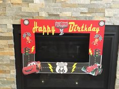 A personal favorite from my Etsy shop https://www.etsy.com/listing/386098200/cars-birthday-photo-booth