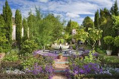 Prince Charles' Highgrove House: The Carpet Garden is packed with exotic plants and flowers