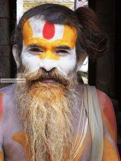 Travel Photography Saddhu at Pashupatinath by SnapshotsOfTheWorld, $20.00