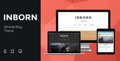 Minimal & Clean Blog Theme #wordpress