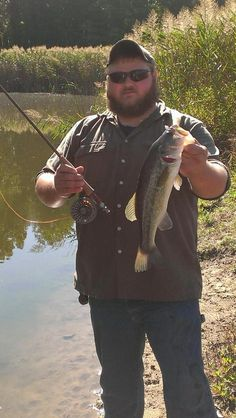 Farm pond bass on fly rod Fishing Photos, Fishing Stuff, Fly Fishing, Farm Pond, Largemouth Bass, Fly Rods, Bobbers, Videos, Summer