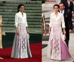 Rania de Jordania: Fotos de sus mejores looks (18/60) | Ellahoy