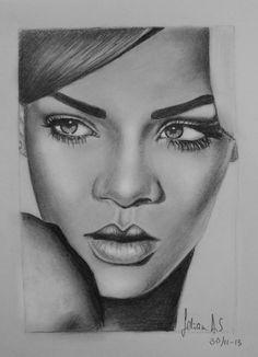 Rihanna by feliciaansm