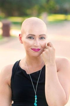Stage IVB Cervical Cancer - bald is beautiful - click to read her story