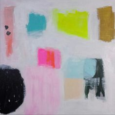 Abstract painting by Atlanta artist Susie Kate