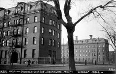 Vingolf and Fensal Halls, Maryland Ave | Goucher College Digital Library