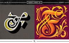 """Nick Misani & Calvin Sprague // Typefight - """"F"""""""