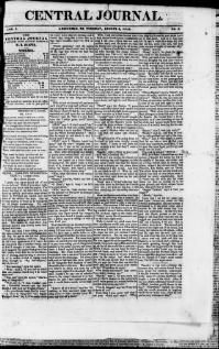 ATTALA COUNTY, Mississippi - Kosciusko - 1844-45  Central Journal.  « Chronicling America « Library of Congress