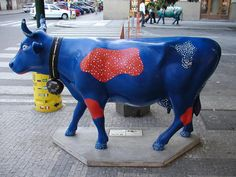 The Cow Parade in Prague - Bovine Beauties Fill the City!