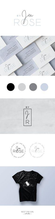 Branding, lifestyle blog design, graphic design, logo, business card design, fashion blog design