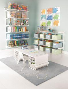 20 Fantastic Kids Playroom Design Ideas – Modern Home Playroom Furniture, Space Saving Furniture, Furniture Ideas, Bedroom Furniture, Playroom Design, Playroom Ideas, Kids Playroom Storage, Playroom Layout, Playroom Closet