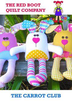 THE CARROT CLUB pdf Soft Toy Pattern Rabbit Pattern