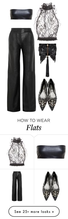 """""""Anywhere Else"""" by silhouetteoflight on Polyvore featuring Oscar de la Renta, ADAM, Love Leather, Dolce&Gabbana and Roberto Cavalli"""