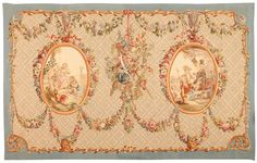 Extremely Finely Woven 18th Century French Aubusson Tapestry
