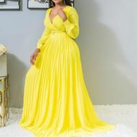 Curvy Girl Lingerie, Women Lingerie, African Dresses For Women, African Women, Halter Dress Summer, Dress Robes, Yellow Dress, Traditional Outfits, Plus Size Dresses