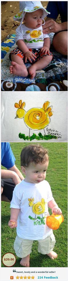 Easter Shirt - Chicken T-shirt - Baby Gift Hawaii - Unisex Kids Shirt - Hand Painted T-shirt - Kauai Chicken Shirt - yellow green shirt https://www.etsy.com/PetrinaBlakely/listing/97403874/easter-shirt-chicken-t-shirt-baby-gift?ref=shop_home_active_1
