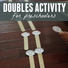 Toddler Approved!: Doubles Activity for Preschoolers