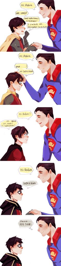 Dick Grayson! : Photo <-- the way that clark looks at dami :)