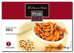 http://www.nashuanutrition.com/store/  The ProtiDiet BBQ Protein Crisps are high in protein, providing 15 grams, low in sugar, and low in carbohydrates. Great for on the go or as an evening snack.