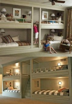 Built in bunk beds :)