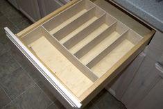 Silverware Organizer, step by step instructions on how to make a silverware organizer.