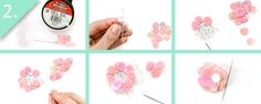 DIY J.Crew-Inspired Sequin Flower Necklace - Шаг 2 - jamiebhannigan.com