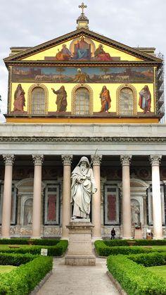 Basilica di San Paolo fuori le mura - Holy See/Rome. Burial place of St. Paul