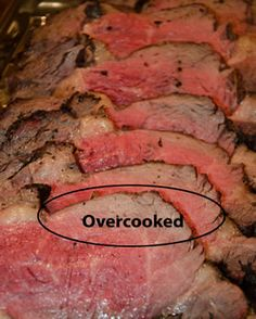 Secrets Of Cooking Beef Prime Rib Roast, Strip Loin Roast, Tenderloin, Round, and Rump Roast
