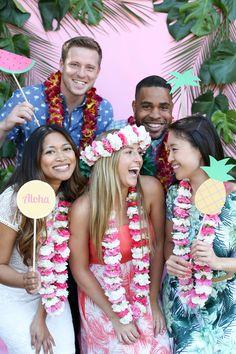 Evite Aloha Summer Tropical Luau