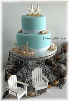 Peter and Lucia's Wedding Cake.