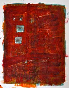 darksilenceinsuburbia:  Tim Hallinan. Untitled, 2013, Acrylic on Paper
