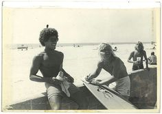 "Montgomery ""Buttons"" Kaluhiokalani (pictured on the left. Photo from Summer 1977) is still considered to be one of the best surfers in the world."