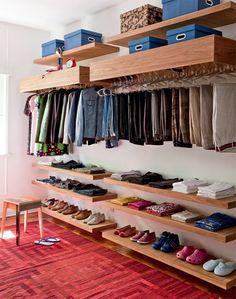 open closet #decor #armario