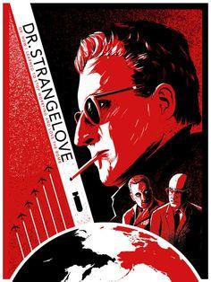 Dr. Strangelove - movie poster - Ron Guyatt