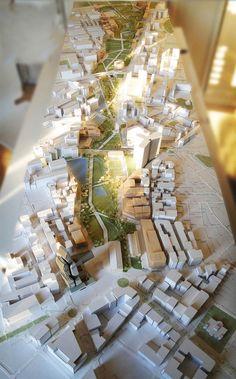Iván Valero > Parque central de Alicante y nueva estación, maqueta, architectural model, maquette