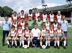 Southampton Football Club team group at The Dell in Southampton,. Southampton Football, Southampton Fc, Back Row, Front Row, David Armstrong, Steve Williams, Mark Wright, English Football League, Assistant Manager