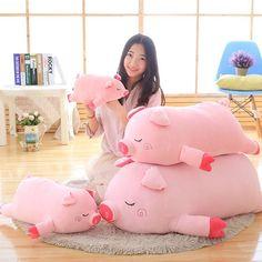 45-100cm Bigger size pink pig