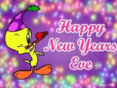 tweety new year drawings