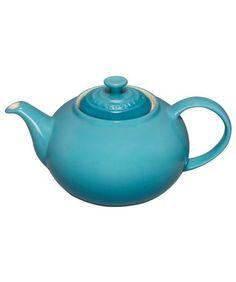 Le Creuset Classic Tea Pot: Teal